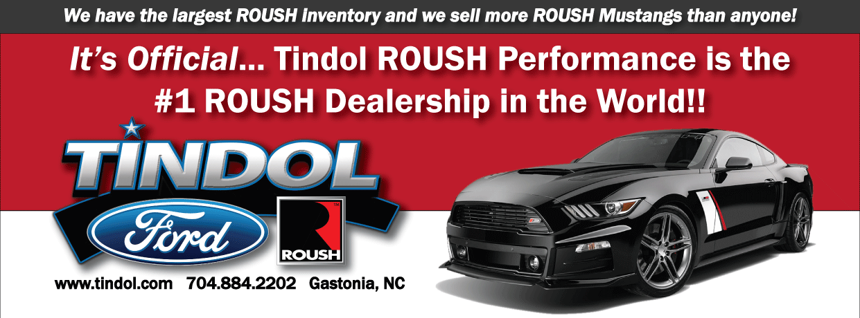Tindol ROUSH Mustang Dealership is #1 in the World